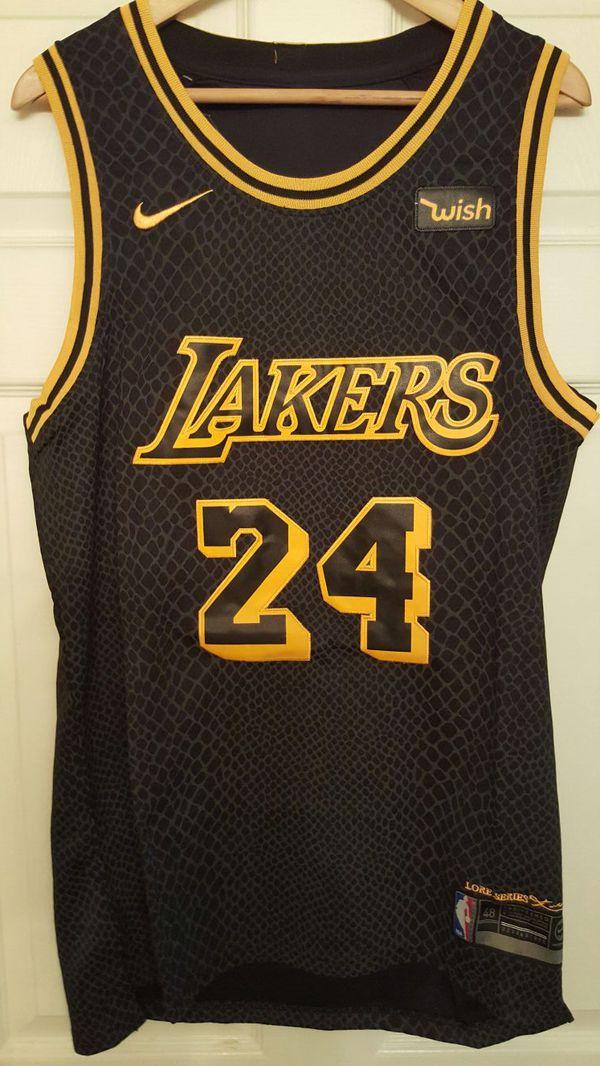 New Medium Kobe Black Mamba Jersey for Sale in Los Angeles f927d2256