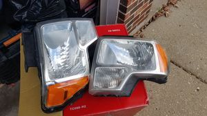 2009 f150 oem headlamps for Sale in Chicago, IL