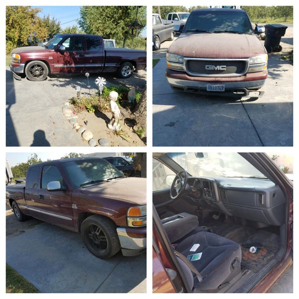 00 Gmc Parting Out. Motor Trans Rearend And Driver Fender