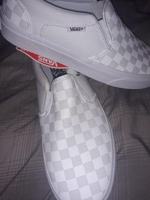Photo White checker Van's