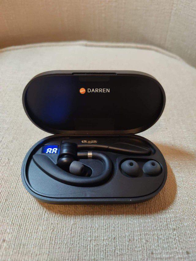 Bluetooth True Wireless Earphone 5.0 Earbuds  Headset Noise Reduction