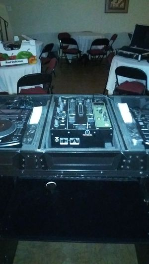 Have two numark ndx 500, denon dn x600 mixer odyssey cuffin and stand all in excellent condition. for Sale in Fort Washington, MD