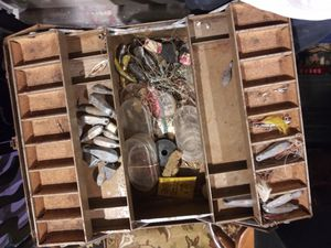 Old tackle box for Sale in South Salt Lake, UT
