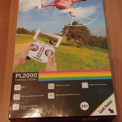 PolaroidPL2000 Quadcopter with 720p HD Wi-Fi Video (Red)   Thumbnail
