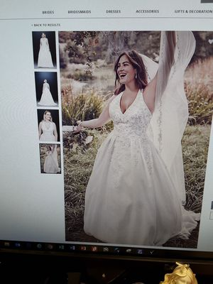 New and Used Wedding dress for Sale in Fayetteville, NC ...