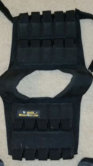 Weighted workout vest! for Sale in Fairfax, VA