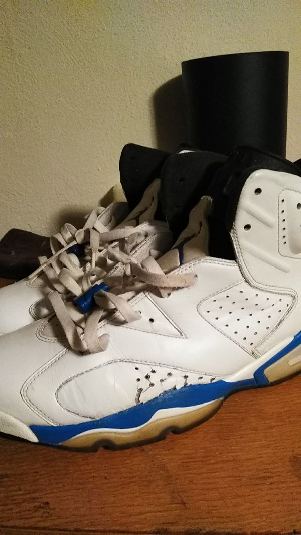 separation shoes 36c12 46274 Sport blue 6s for Sale in Lawrence, IN - OfferUp