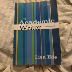 The Academic Writer By Lisa Ede Thumbnail