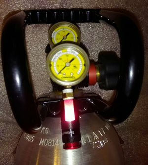 NEW! POWERTANK 10lb CO2 tank, tank foot, handle, regulator gauges, mount,  electronic tire gauge, attachments set for Sale in Scottsdale, AZ - OfferUp