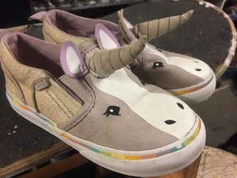 Vans toddler size 8.5 unicorn shoes Thumbnail