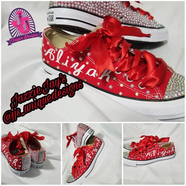 72bc5f8ee52c Custom bedazzled converse for Sale in Atlanta