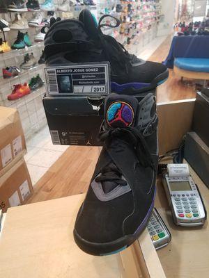 Air Jordan 8 Aqua Size 9.5 for Sale in Silver Spring, MD