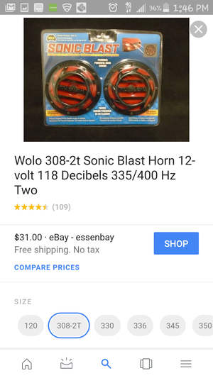 Sonic Blast Horn for Sale in Denver, CO