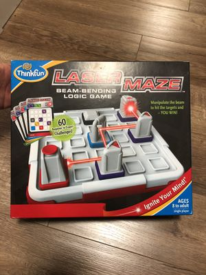 Laser Maze Logic Kids Board Game by Thinkfun for Sale in Redmond, WA