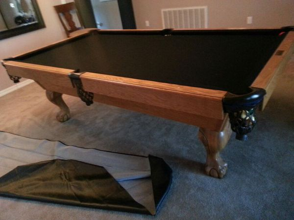 Buckhorn Billiard Ft Pool Table NEW Feltbumpers Peice Slate - Buckhorn pool table