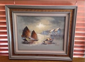 Kwok Boat Painting for Sale in Phoenix, AZ