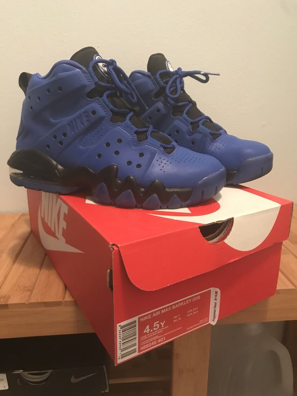 new product ae74c 129cf Nike Air Max Barkley s (GS) size 4.5