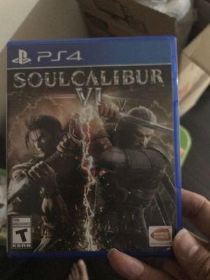 Soul Calibur VI 6 PS4 PlayStation for Sale in Orlando, FL