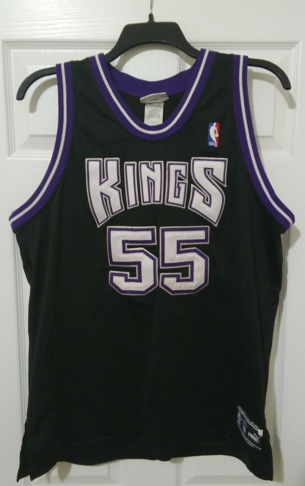 Men's Size 48 Puma Sacramento Kings Jason Williams Jersey Pre-Owned