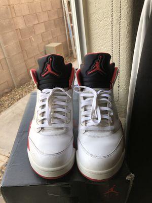 "10b57b849729 Air Jordan 5 ""Fire Red"" Retro OG for Sale in Yuma"