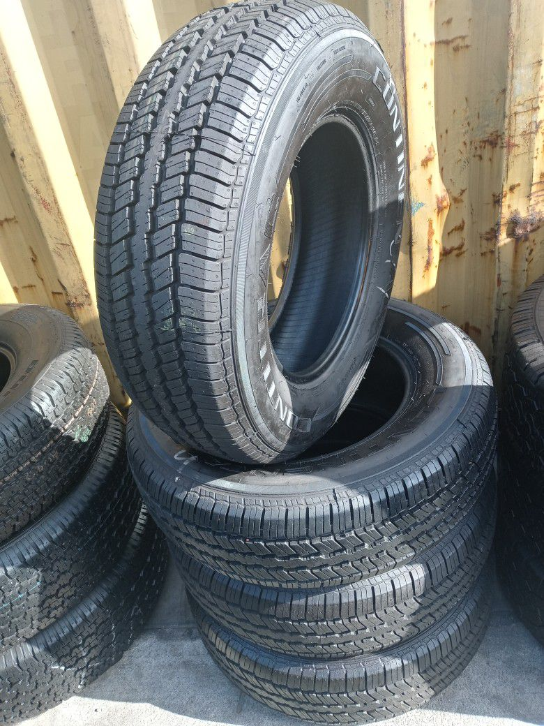 235/70/16 Set Of Good Used Continental Tires