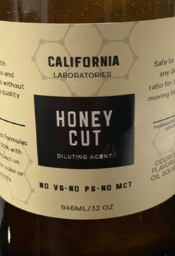 Honey cut diluting agent 964 ml / 32 ounces Thumbnail