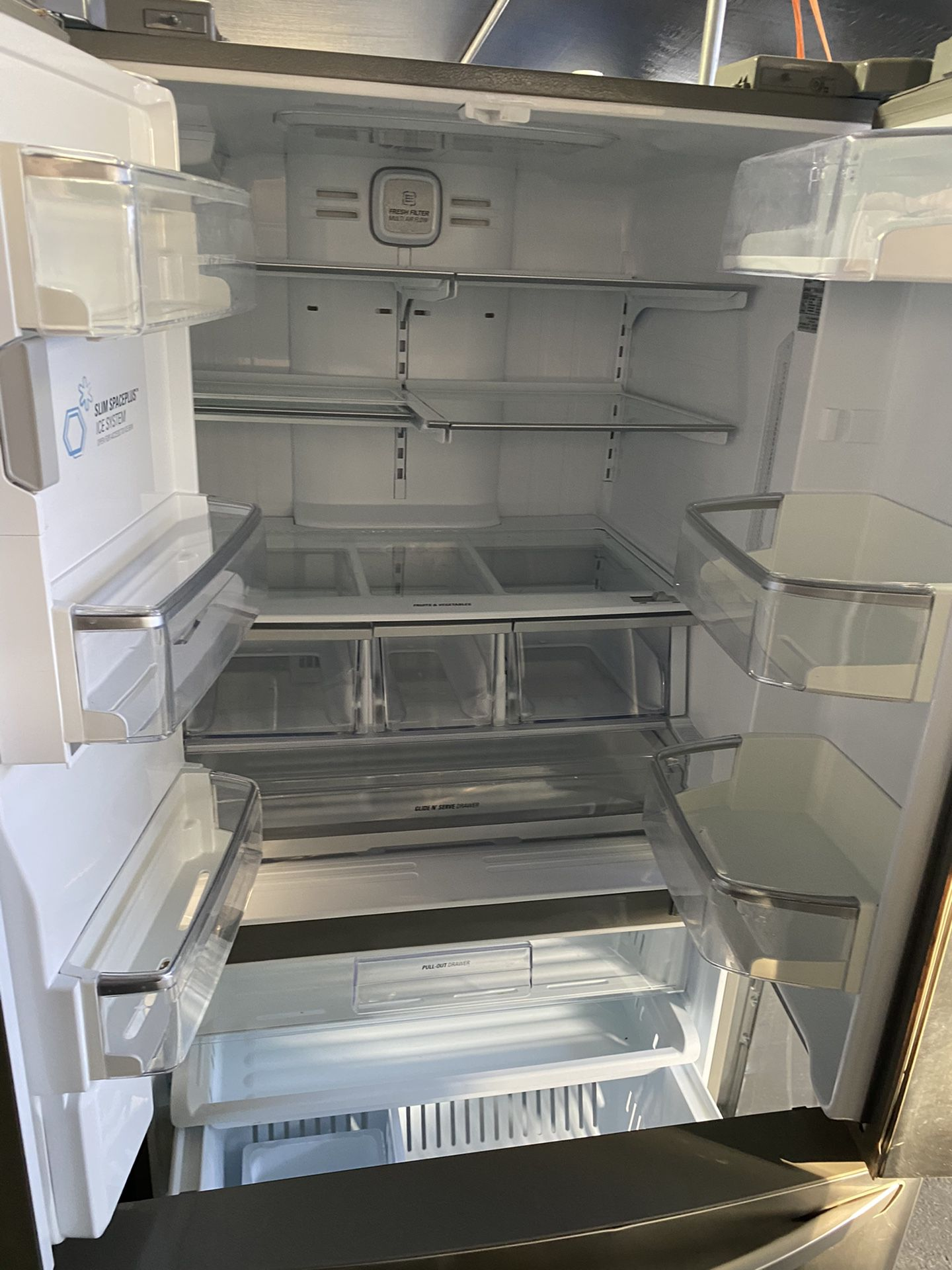 $749 LG stainless steel a French door refrigerator with delivery in the San Fernando Valley