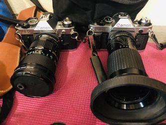 Canon camera equipment Thumbnail