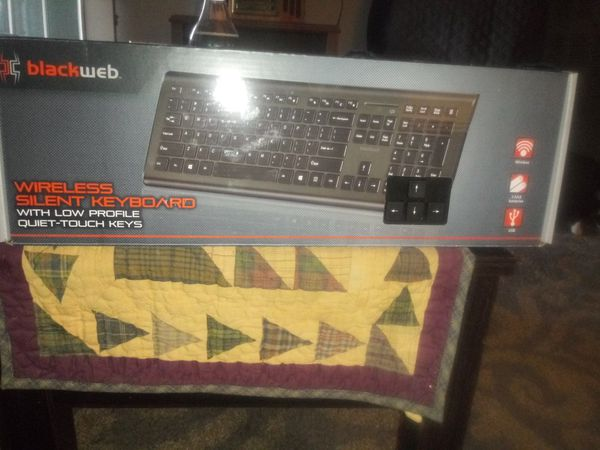 dd1d1b587e9 Blackweb. Wireless silent keyboard new in box for Sale in Columbus ...