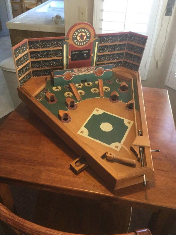 Old Century Classics Baseball Pinball Game For Sale In Santa Clarita Ca Offerup