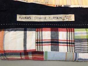 Pottery Barn Kids Madras Shower Curtain For Sale In Bothell Wa