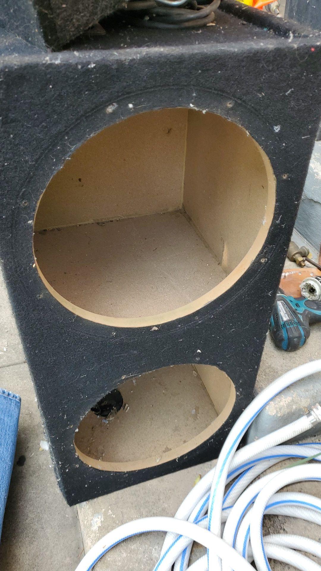 12 inch subwoofer enclosure