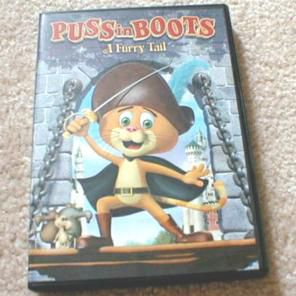 Puss in Boots A Furry Tail DVD for Sale in New York, NY