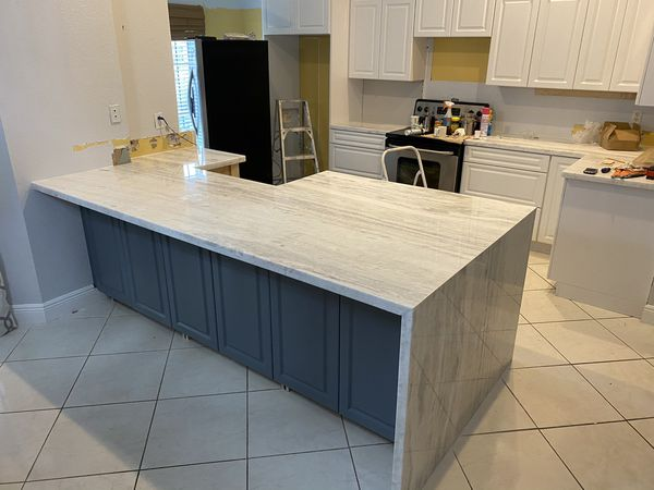 Granite Marble Quartz Countertop Kitchen & Bath Cabinets ...