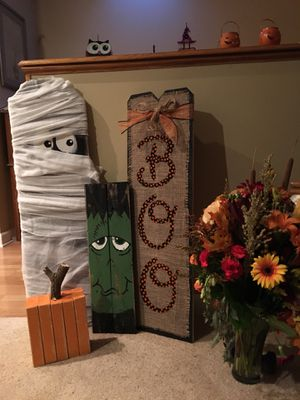 Halloween decor handmade by Kathy for Sale in Mount Prospect, IL
