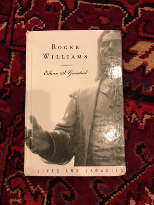 Roger Williams - Edwin Gaustad for Sale in Boston, MA