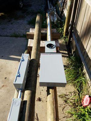 Txu meterpole for Sale in Dallas, TX