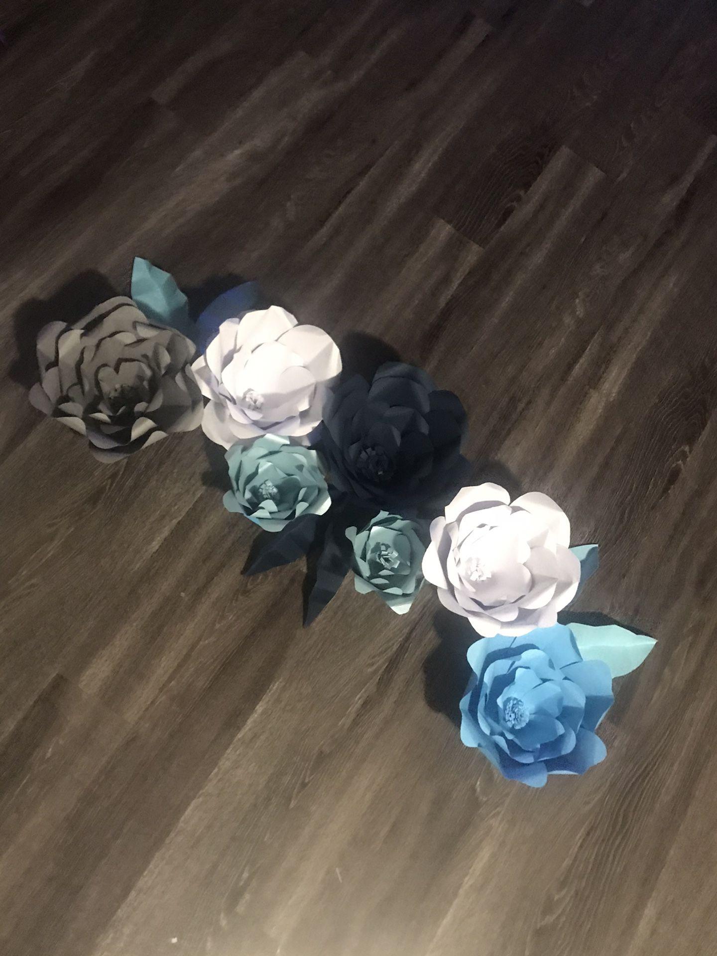 Paper Flowers Flores de Papel