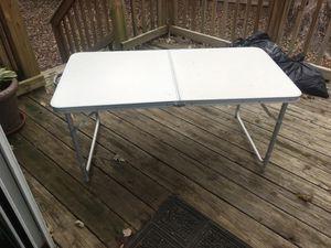 Folding camp table for Sale in Arlington, VA