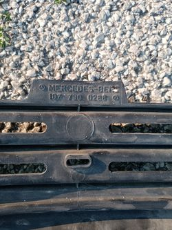 Mercedes 107 Bumper Lower Valance  Thumbnail