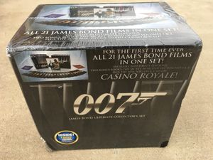 James Bond 007 Ultimate Collectors Set 21 Movies...SEALED! for Sale in Grand Prairie, TX