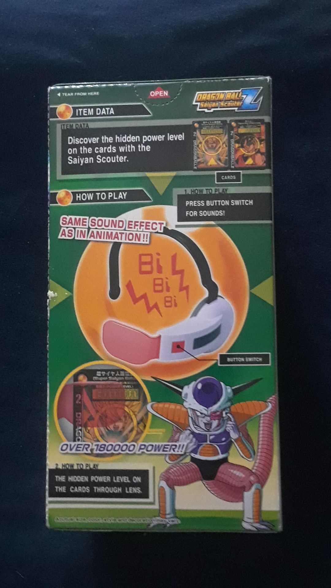 Collectible Dragon Ball Z Saiyan Scouter