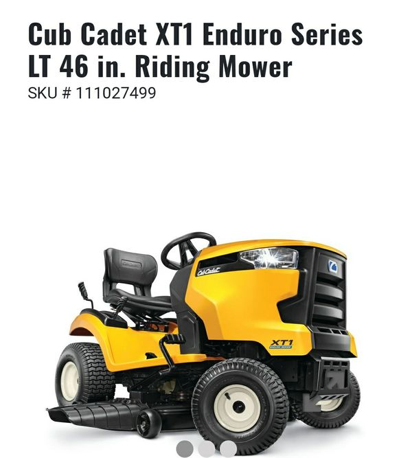 Cub cadet riding mower  for Sale in Round Rock, TX - OfferUp