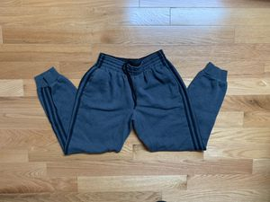 Adidas 3 Stripes Jogger Sweatpants Gray M for Sale in Boston, MA