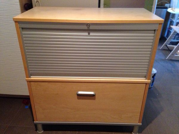 Ikea Effektiv Roll Top File Cabinet For Sale In Washington