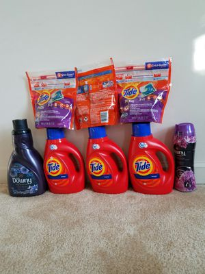 Tide laundry detergent bundle - $40 not negotiable for Sale in Rockville, MD
