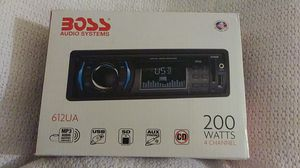 BOSS Audio Systems 612UA Car Radio for Sale in Glendale, AZ