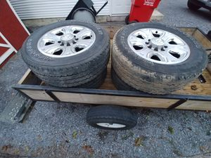 Truck rims and tires for Sale in Martinsburg, WV