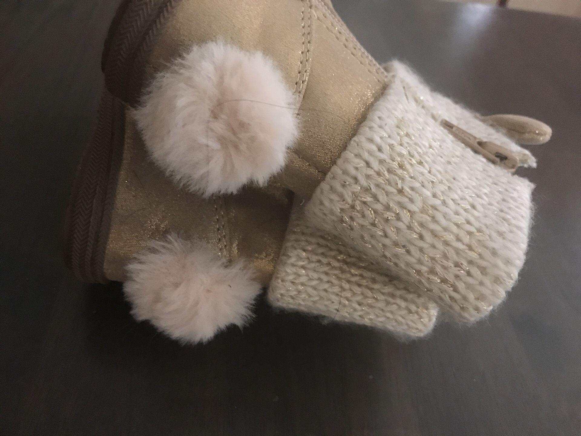 Size 4 koalaKids boots girls