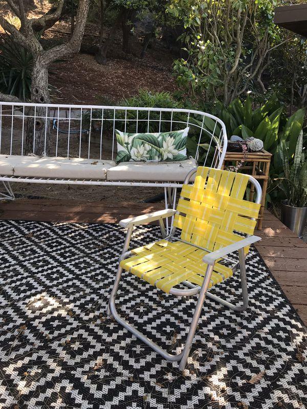 Remarkable Kids Vintage Retro Folding Lawn Chair Childrens Beach Chair Machost Co Dining Chair Design Ideas Machostcouk